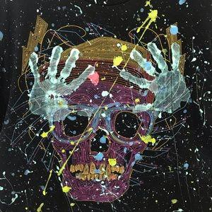 Funky Skull Tee XL
